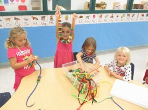 Mini Mustangs show off arts and crafts projects