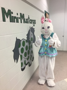 easter bunny at LRHS