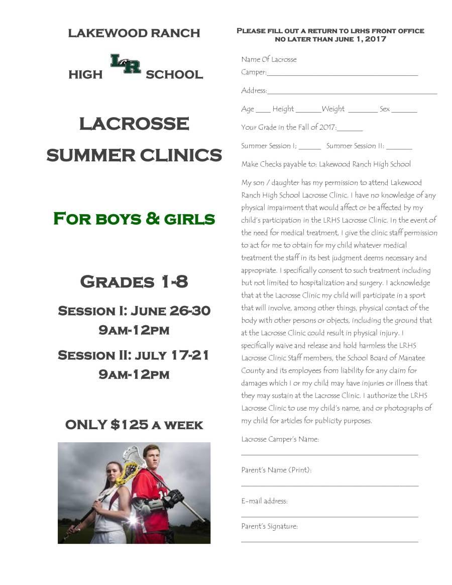 LACROSSE FLYER - LRHS - Summer Clinics (2) (1)