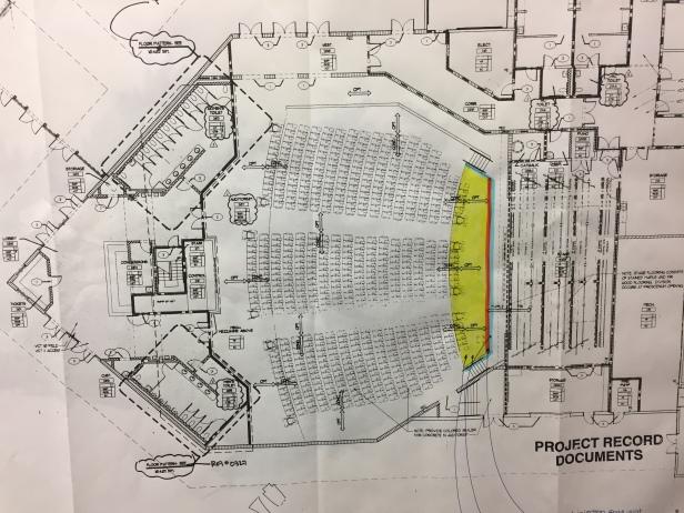 auditorium blueprints