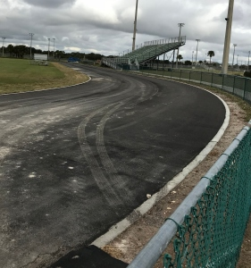new track progress