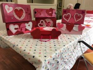 valentine boxes for dementia patients