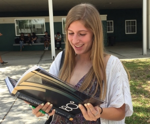 noella kourakos reads yearbook