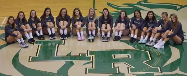 2018 lrhs volleyball girls