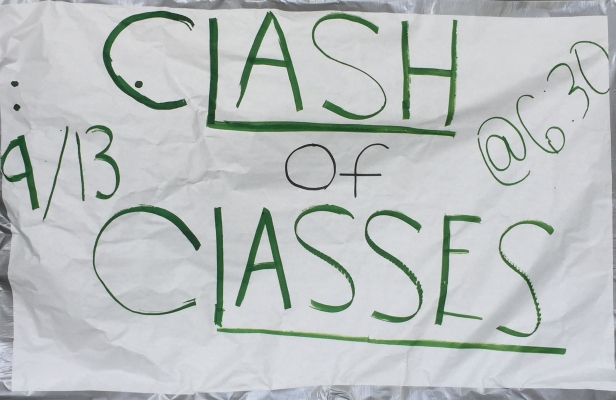 clash of the classes poster