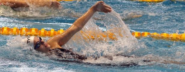 deaf swimmer