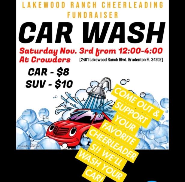 cheer carwash