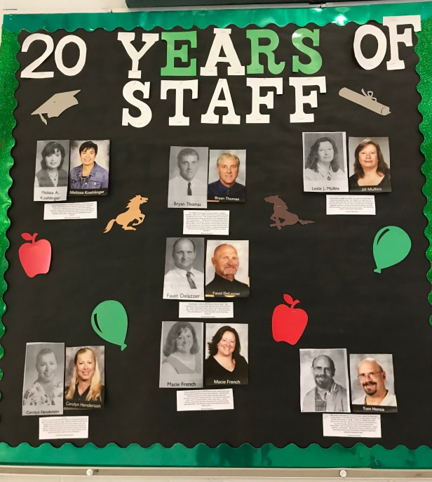 20 year bulletin board