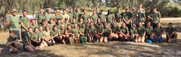 2018 orienteering team