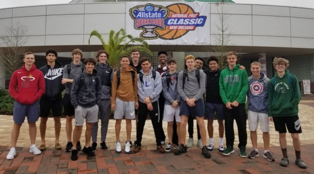 boys bball at nola