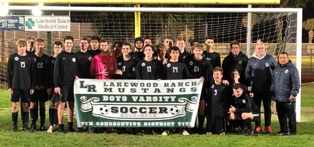 boys soccer district title