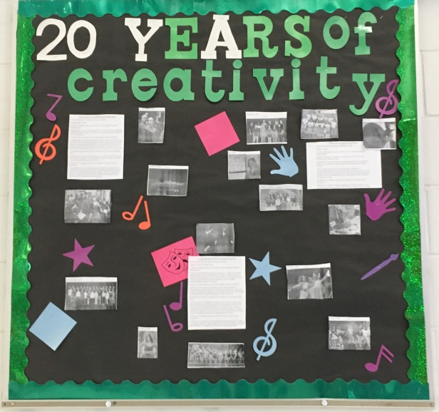 20 years of creatiity board