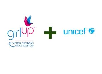unicef + girl up logo