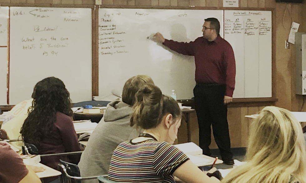 Wallin teaching 2019