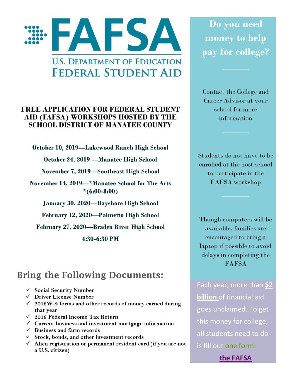 2019-2020 FAFSA Workshop Flyer.jpg