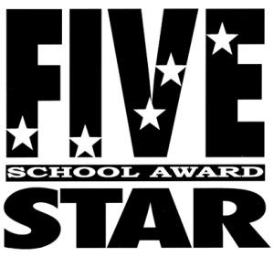 5 star school logo