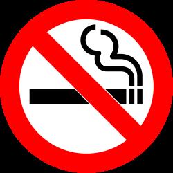 free no smoking logo