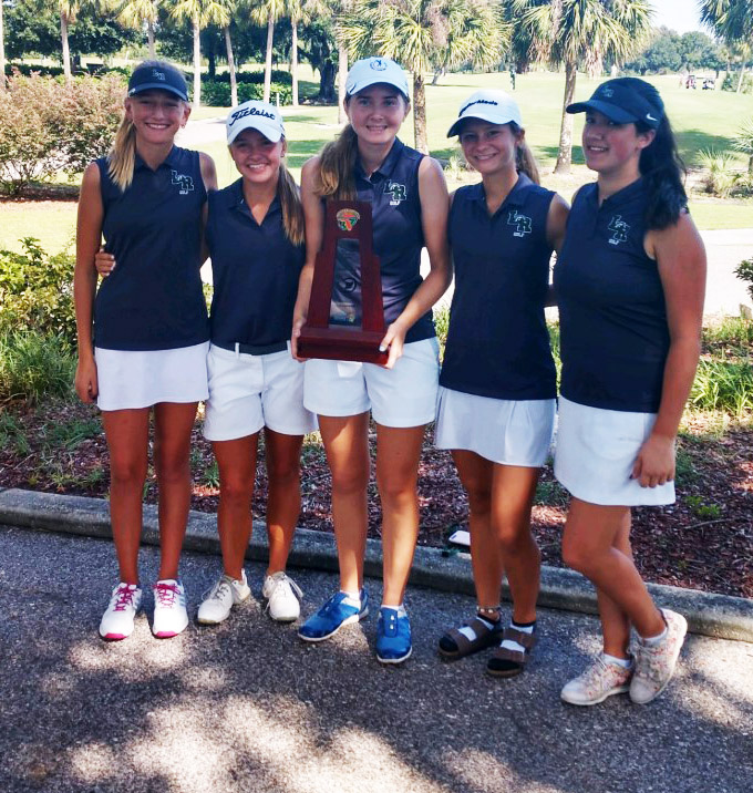 girls golf champions
