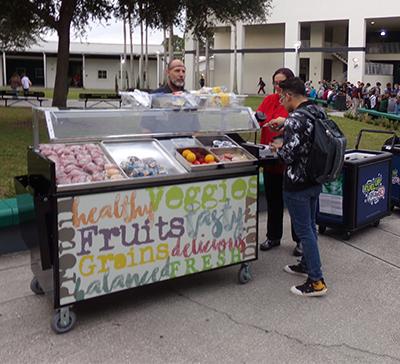 LRHS breakfast wagon