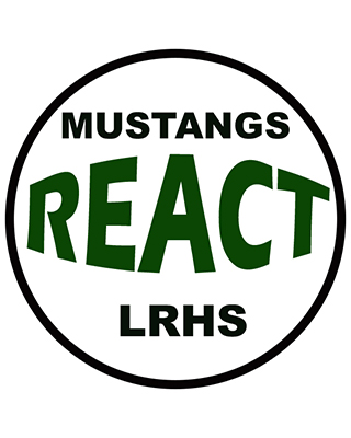 mustangs react logo