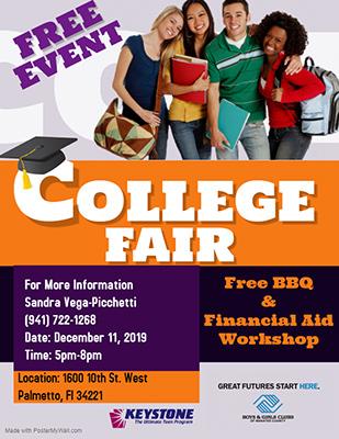 College Fair Flyer 2019