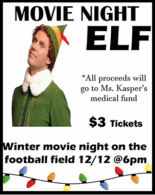 elf poster for kasper