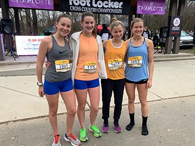 LRHS runners at Foot Locker regional