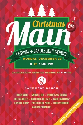 Christmas on Main flyer
