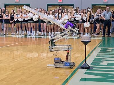 vex robot pep rally 1-24-20