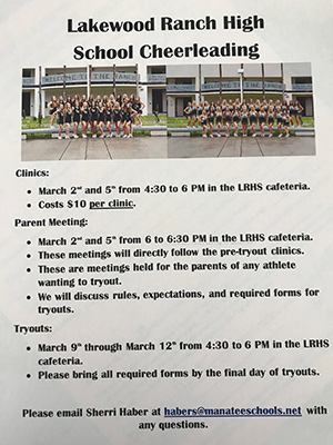 cheer tryout flyer 2020