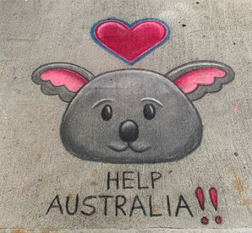 help australia painting 2020