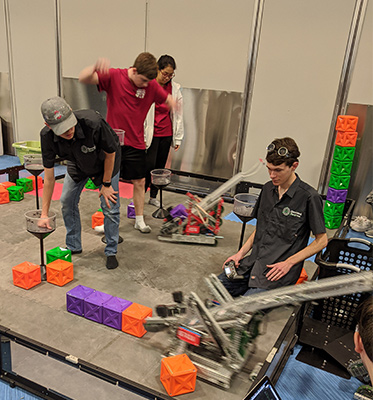 robotics people working 2020