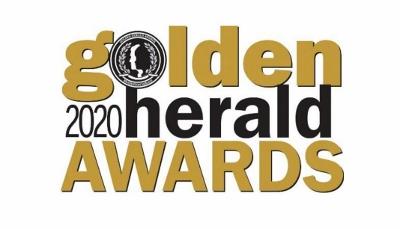 2020 Golden Heralds Logo (400x229)