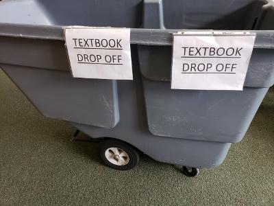 textbook bin - 400